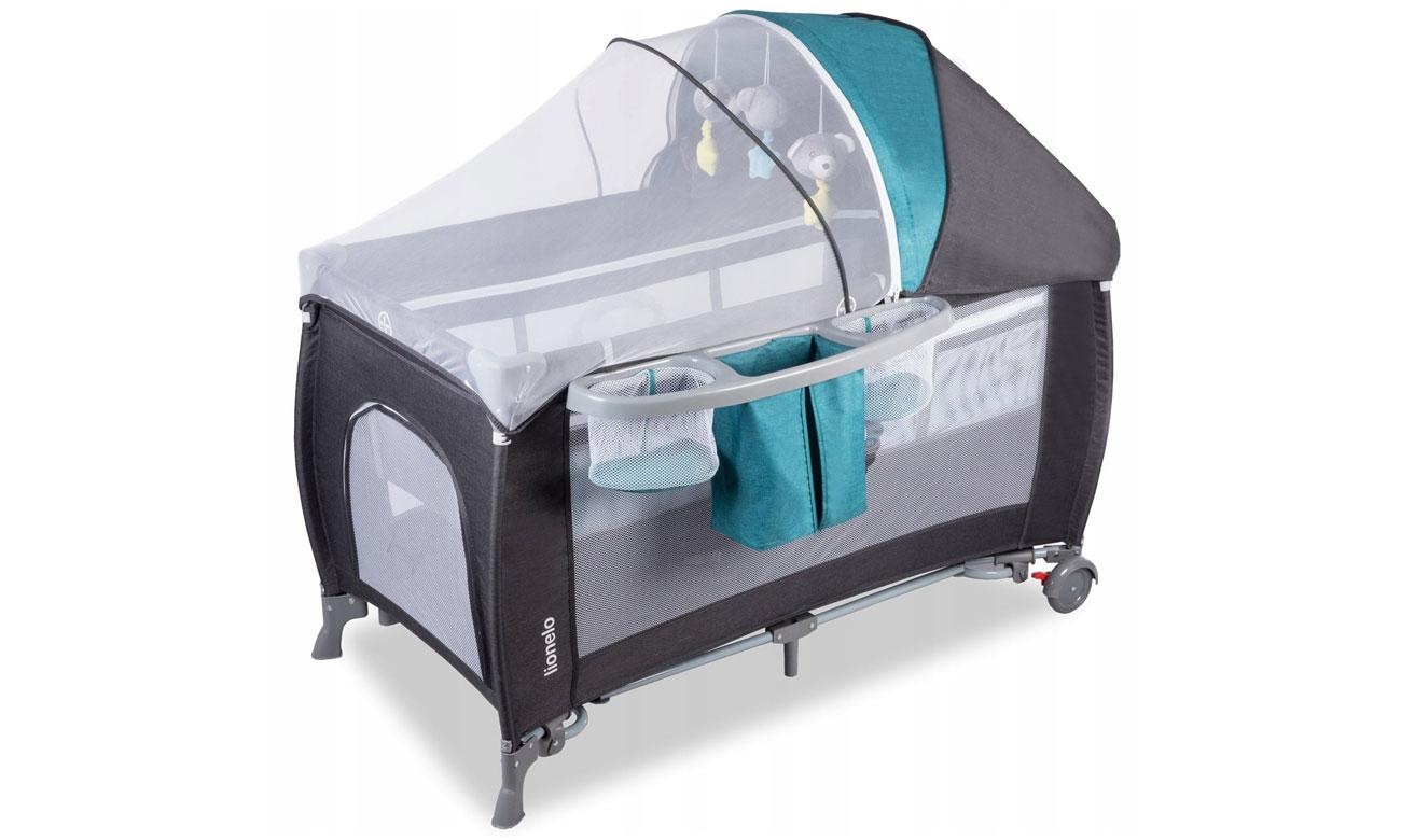 Łóżeczko z moskitierą Lionelo Simon