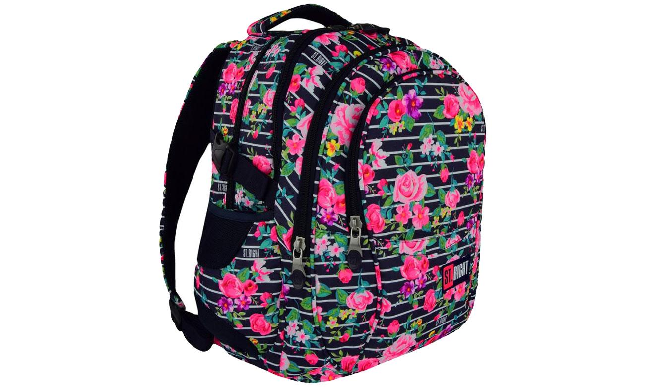 Majewski ST.Right Plecak szkolny Light Roses BP-01 5903235618475