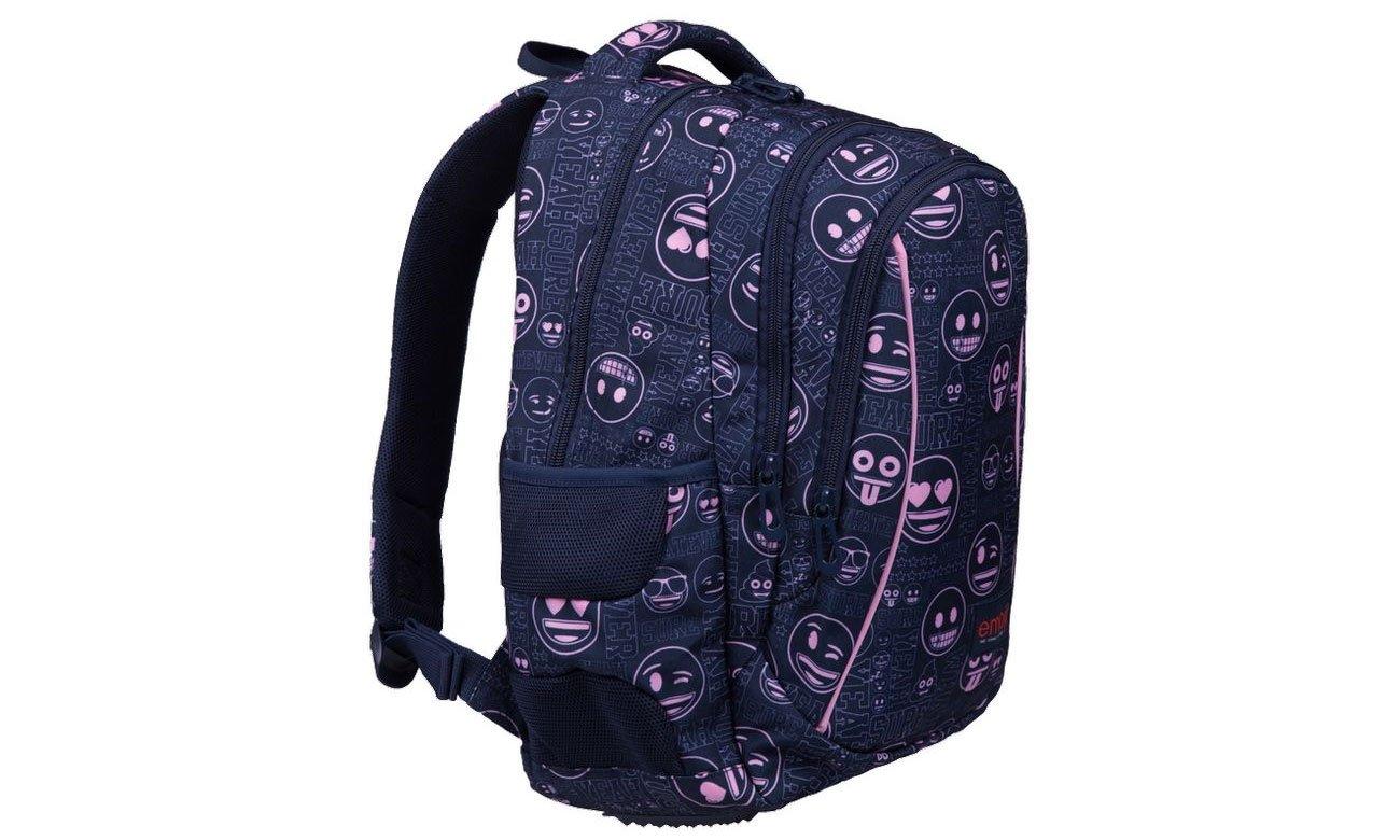 Majewski Plecak szkolny Emoji Pink BP-26 5903235207419