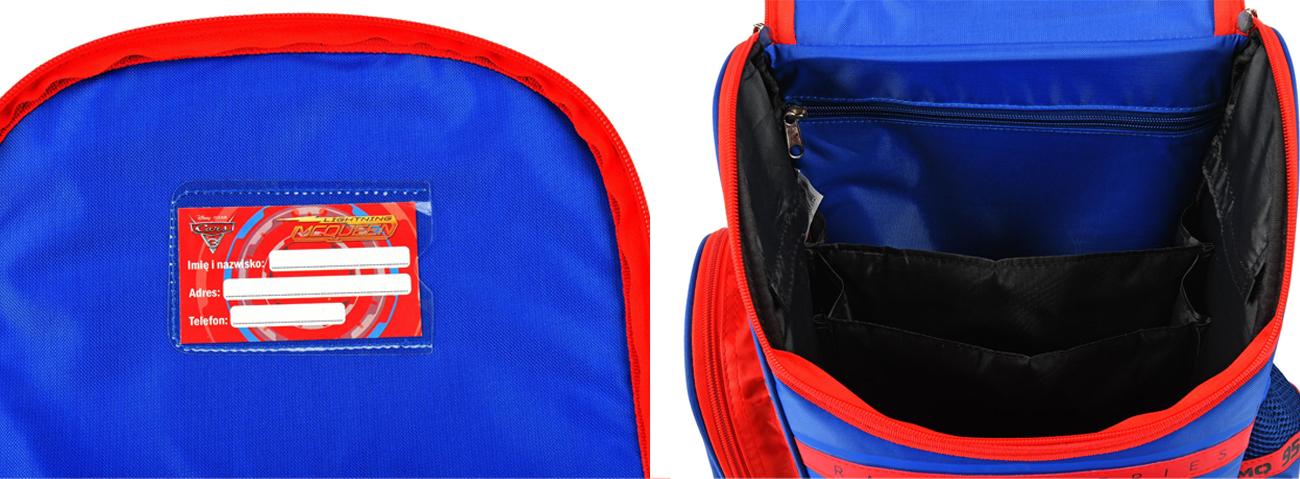 plecak dla dzieci majewski auta
