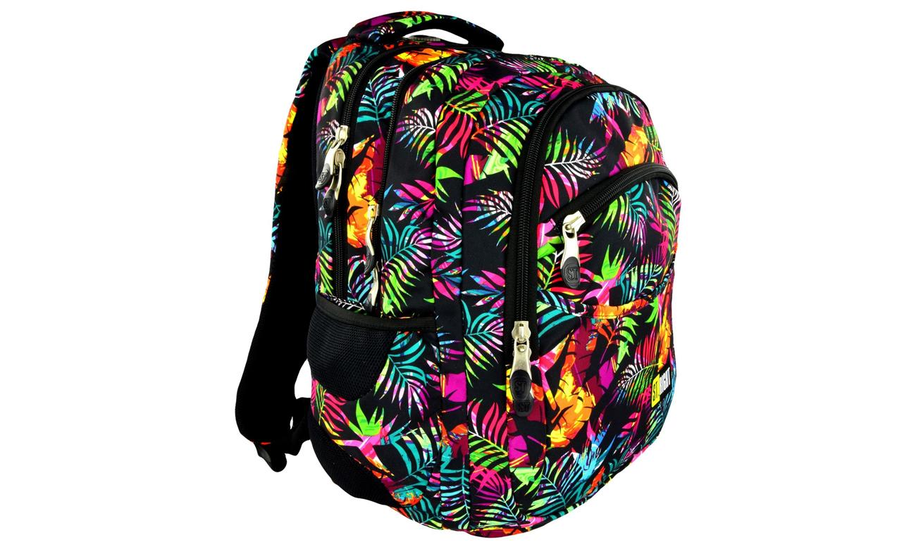 Majewski ST.Right Plecak szkolny Tropical Island BP-03 5903235612626