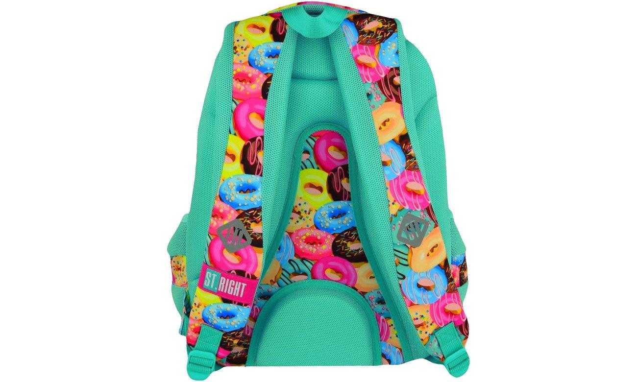 usztywniany plecak majewski Donuts
