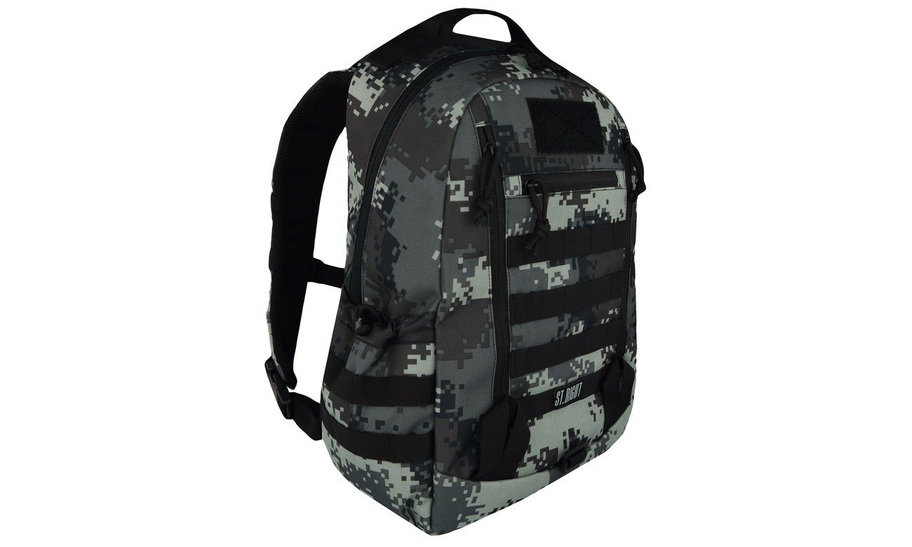 Majewski ST.Right Plecak Military Black Digital Camo BP-39 5903235619557