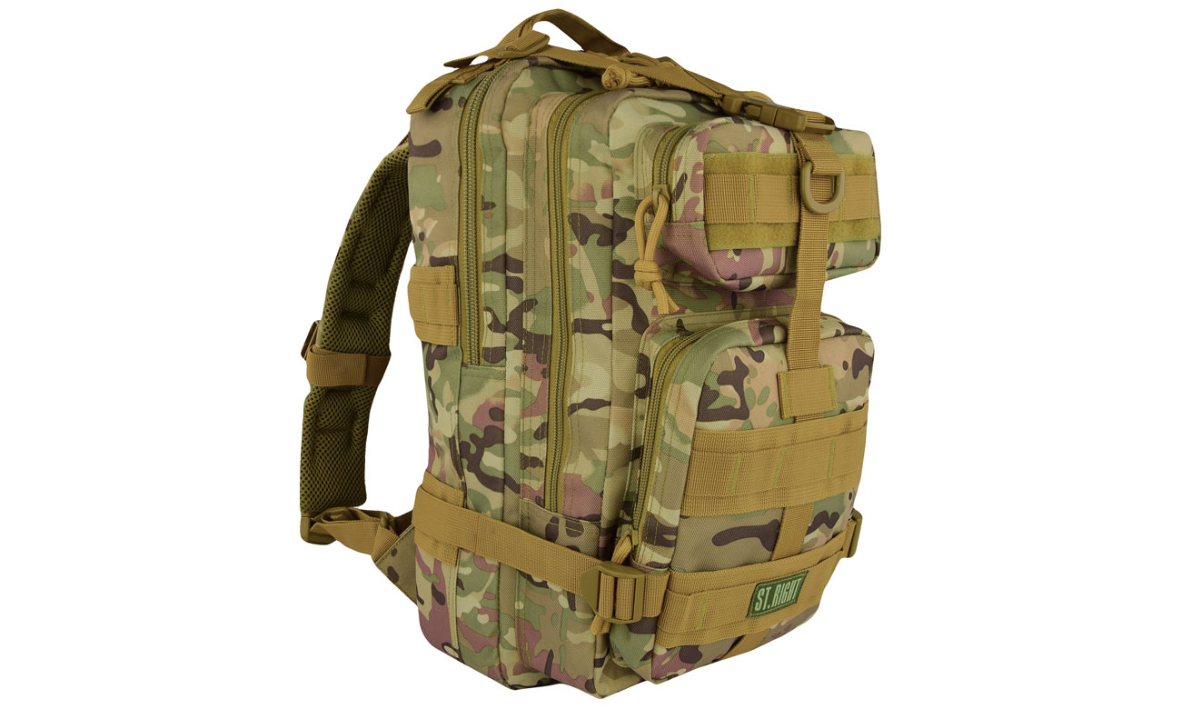 Majewski ST.Right Plecak Military Multi Camo BP-43 5903235619830