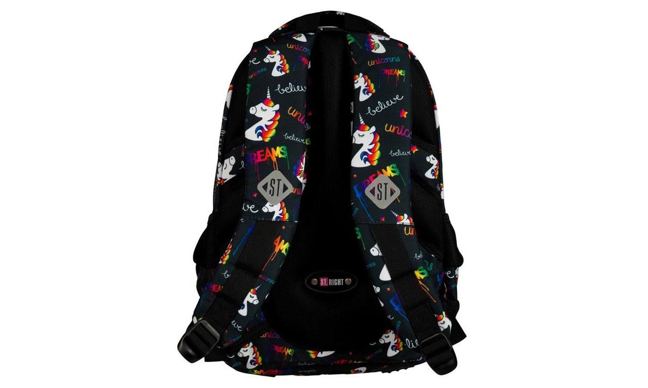 Majewski Plecak szkolny Jednorożce BP-26 5903235620911