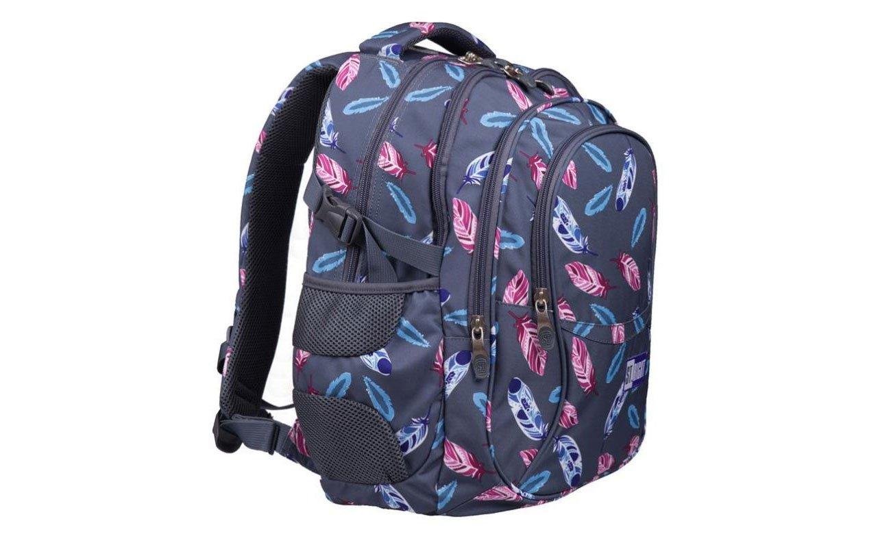 Majewski Plecak szkolny Indiańskie pióra BP-01 5903235622205