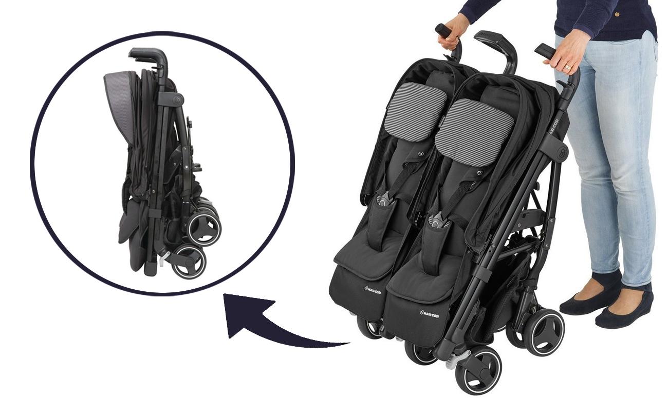 maxi cosi wózki dla bliźniąt
