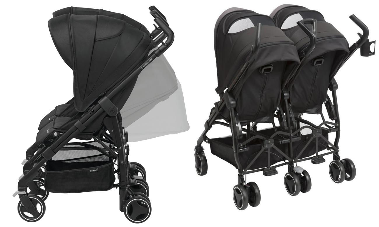 wózek dla dwójki dzieci maxi cosi