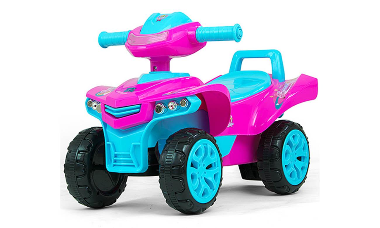 Jeździk quad Milly Mally Monster Pink