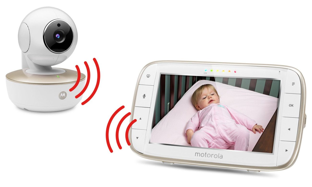 Motorola MBP855 - niania z kamerą i aplikacją