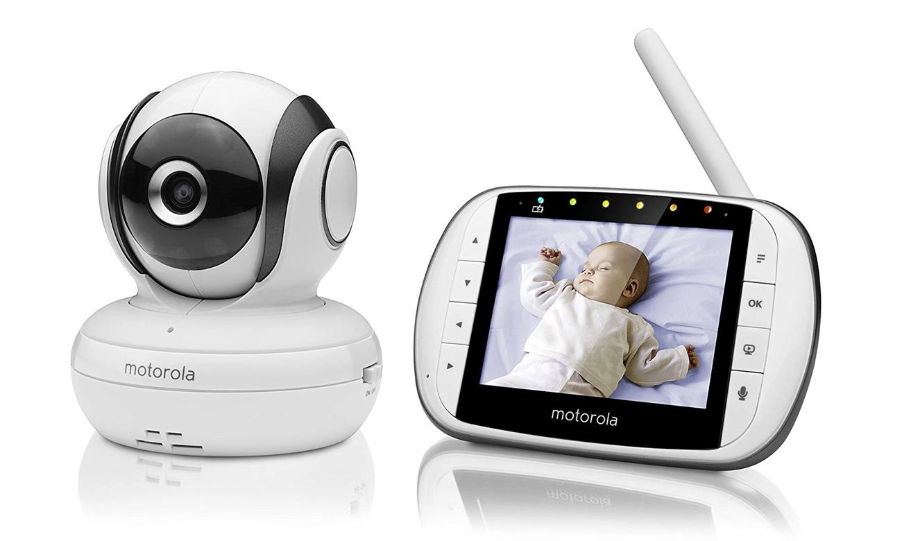 Motorola MBP 36SC - elektroniczna bezprzewodowa niania z kamerą