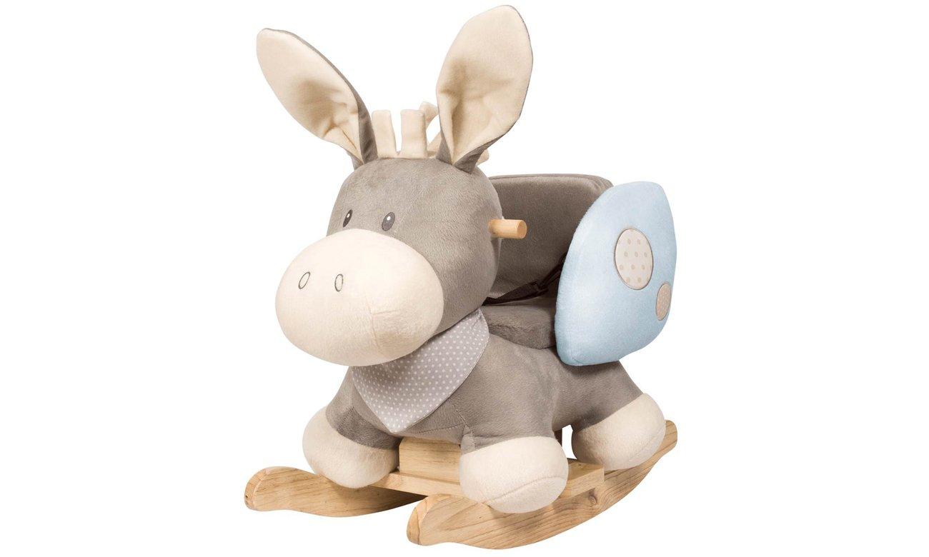 nattou zabawka na biegunach osiołek