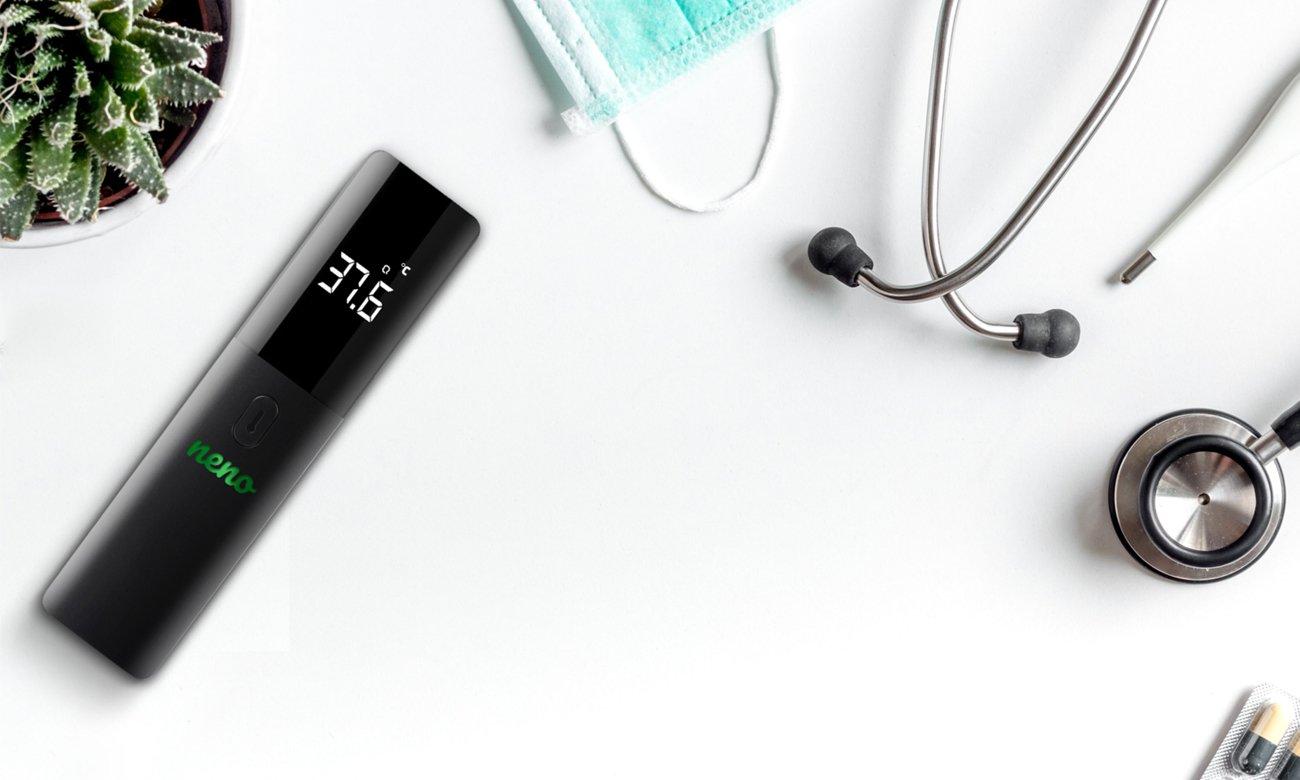 bezdotykowy termometr elektroniczny