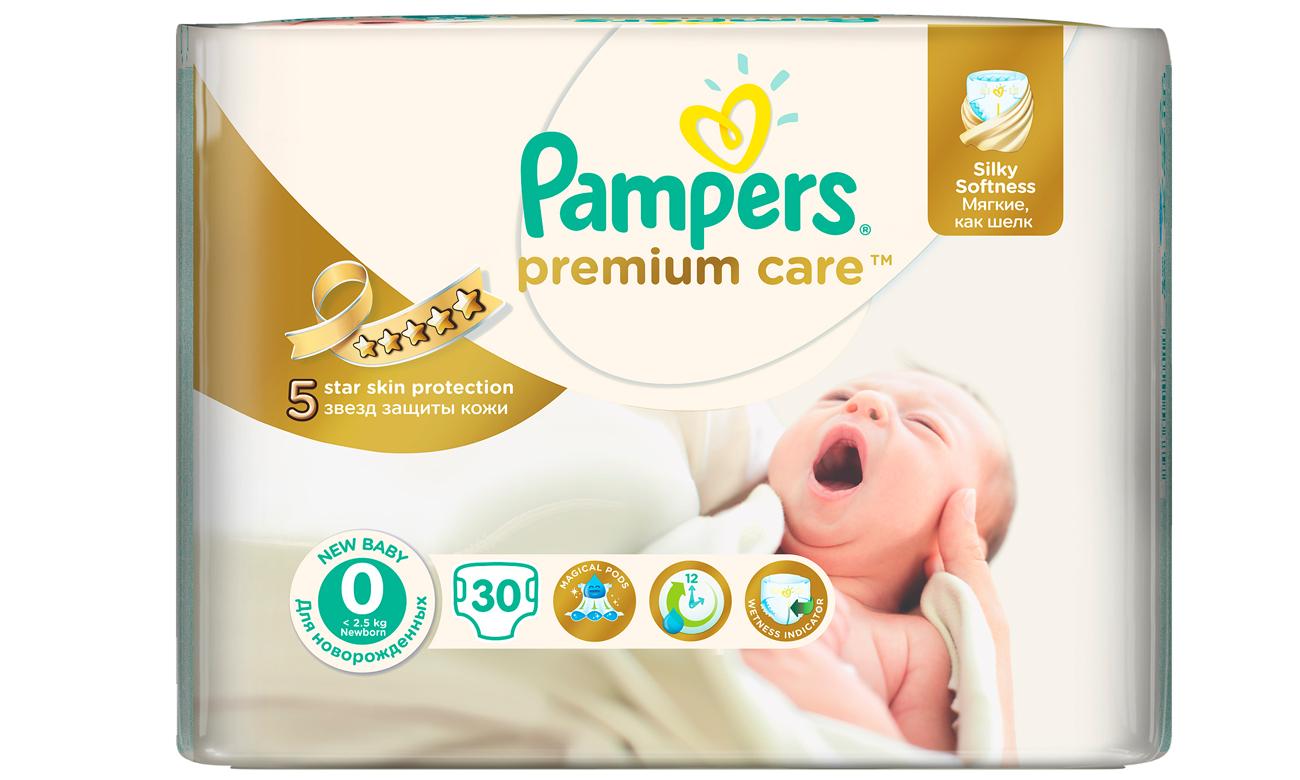pieluszki pampers premium newborn