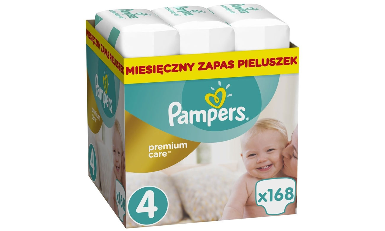 Pampers Premium Care 4 Maxi 8-14kg 168 szt
