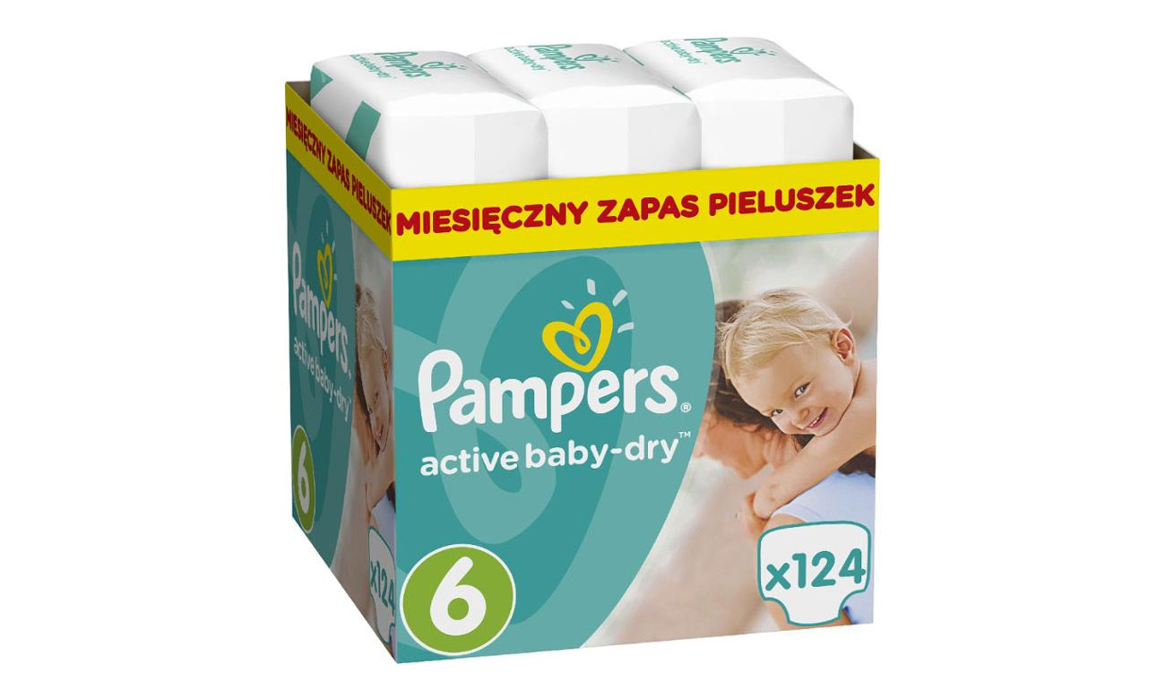 pampers active dry 15 kg