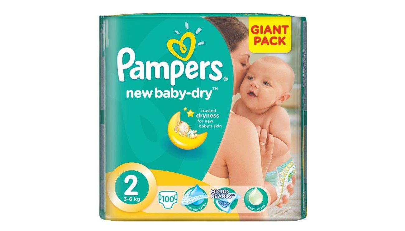pampers active dry rozmiar 2 3 6 kg