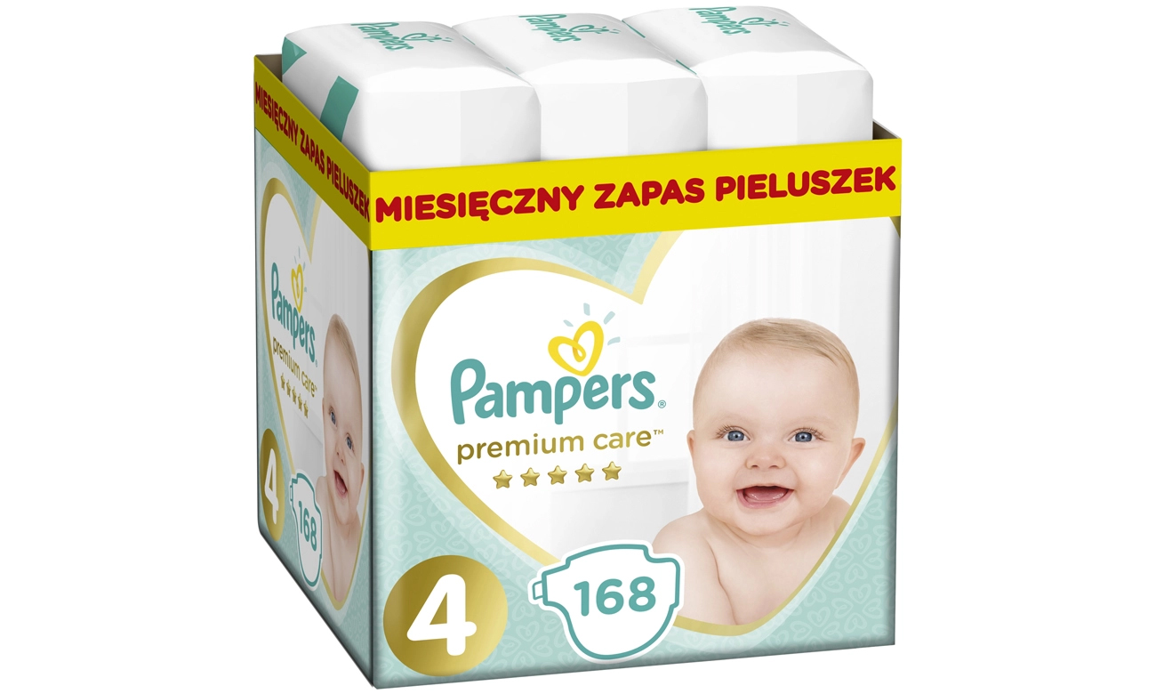 Pampers Pampers Premium Care 4 Maxi 8-14 kg 168 szt.