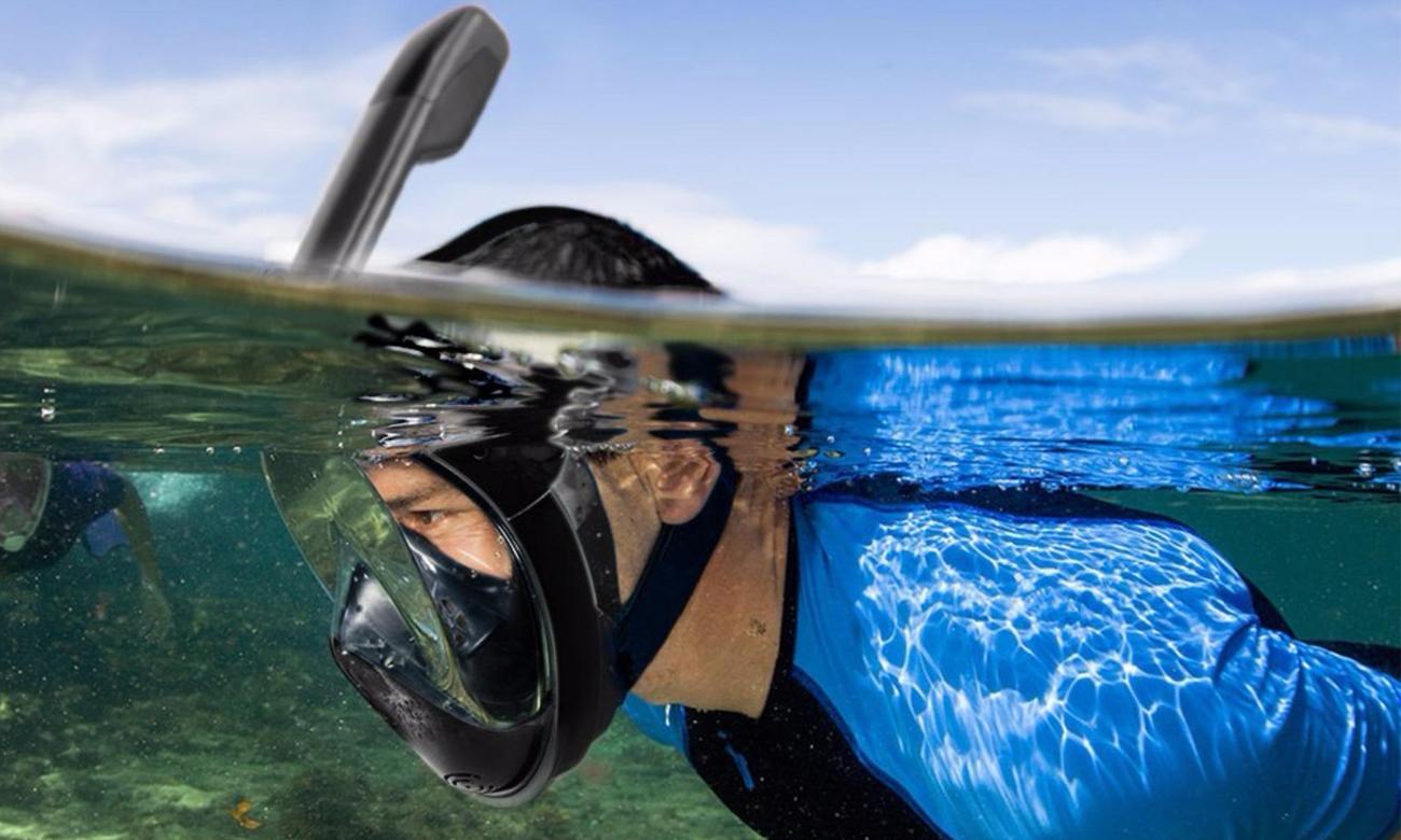maska do nurkowania zalety