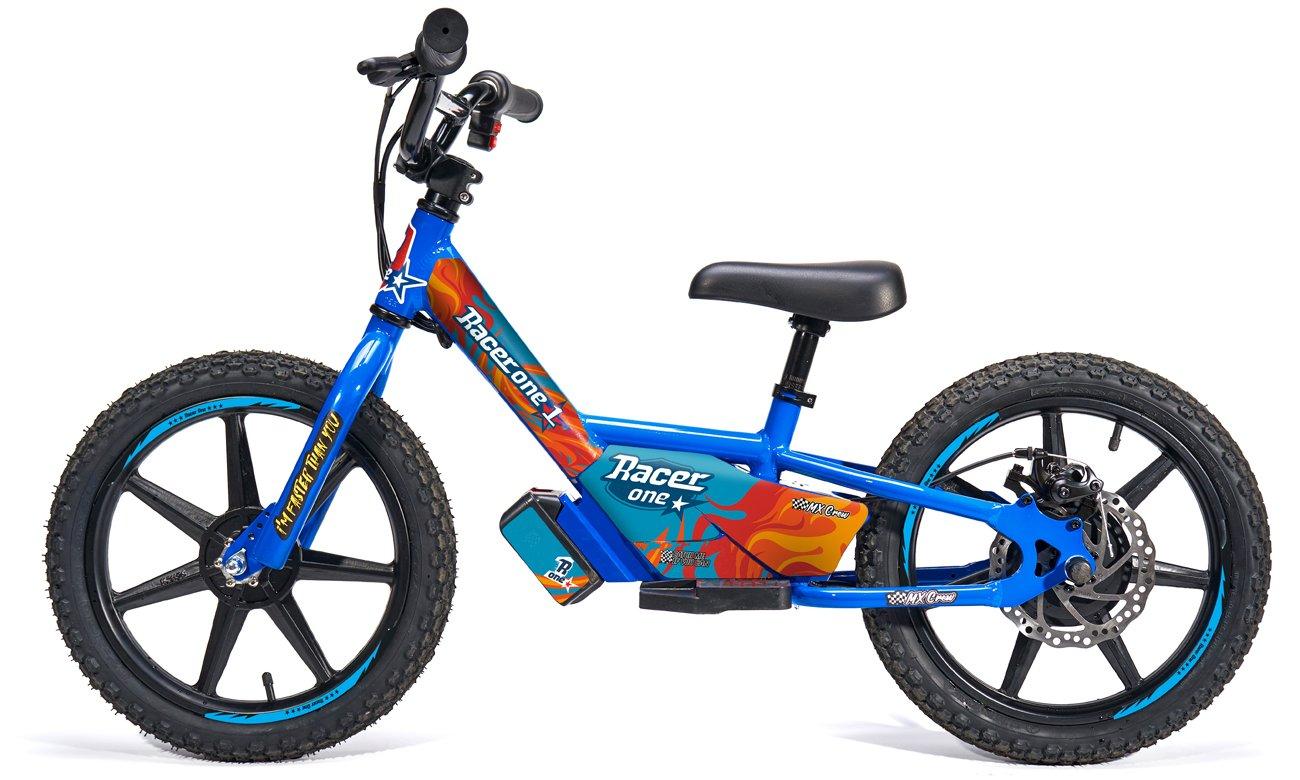 Racerone R1 Go Blue Flames
