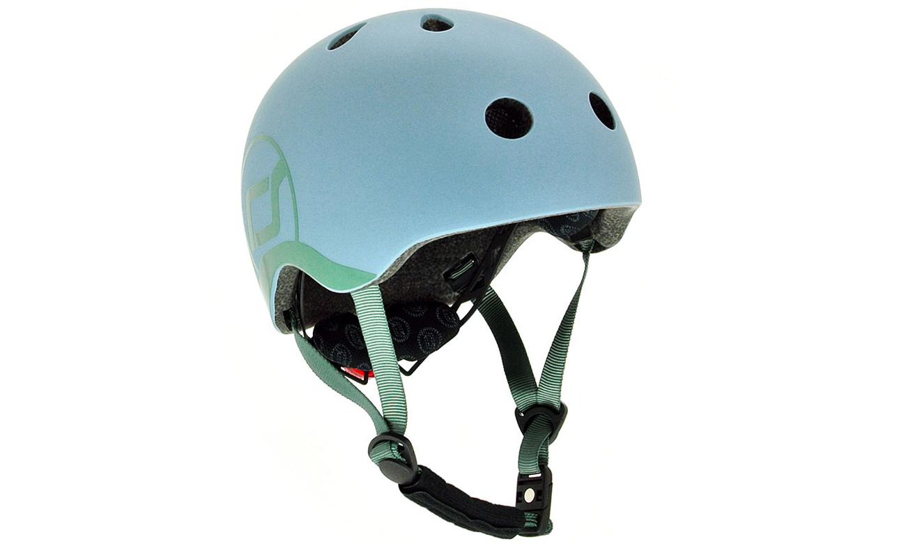 Scoot & Ride Kask Ochronny XXS-S dla dzieci 1-5lat Steel