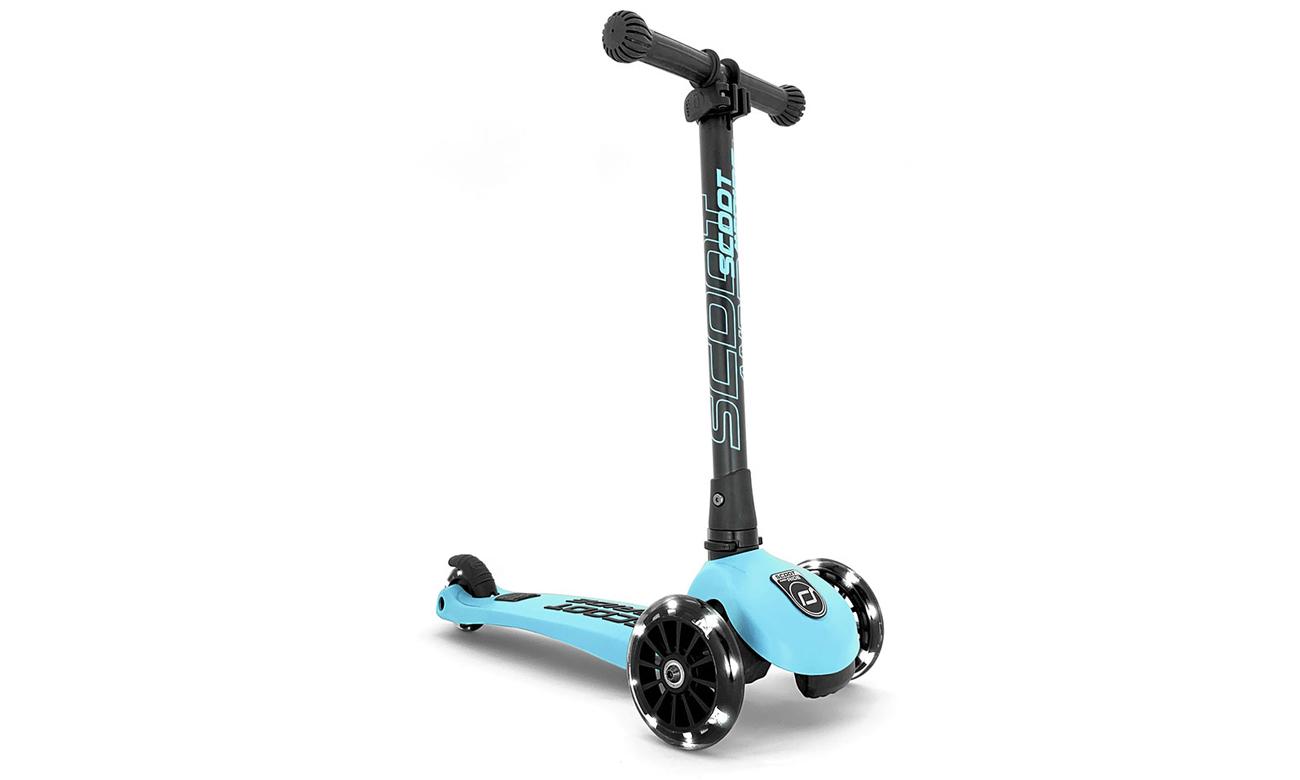 Scoot & Ride Highwaykick 3 LED Hulajnoga Balansowa 3+ Blueberry
