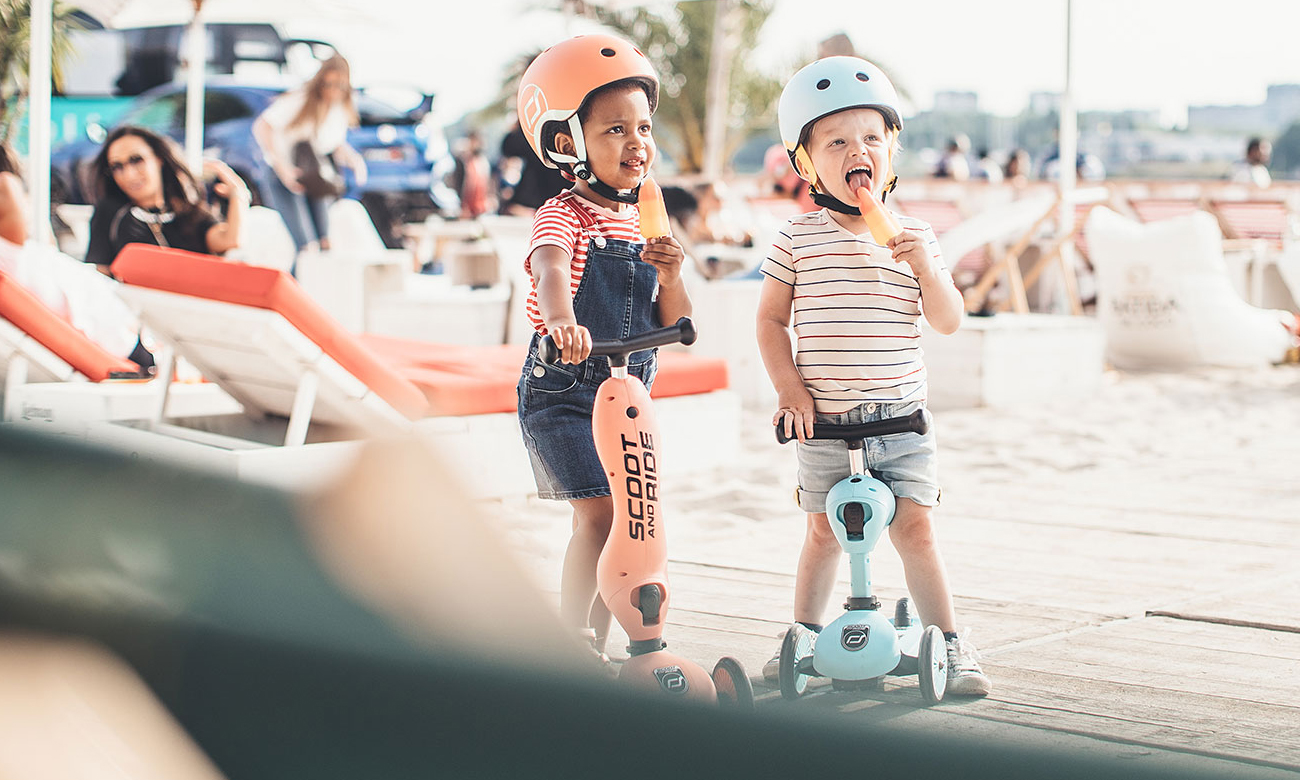 kask dla dzieci scoot and ride