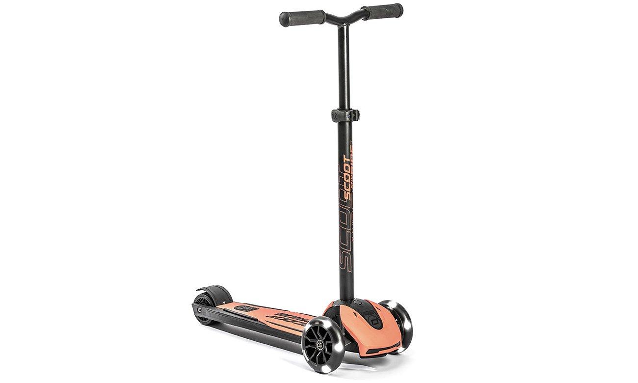 Scoot & Ride Highwaykick 5 LED Hulajnoga balansowa 5+ Peach