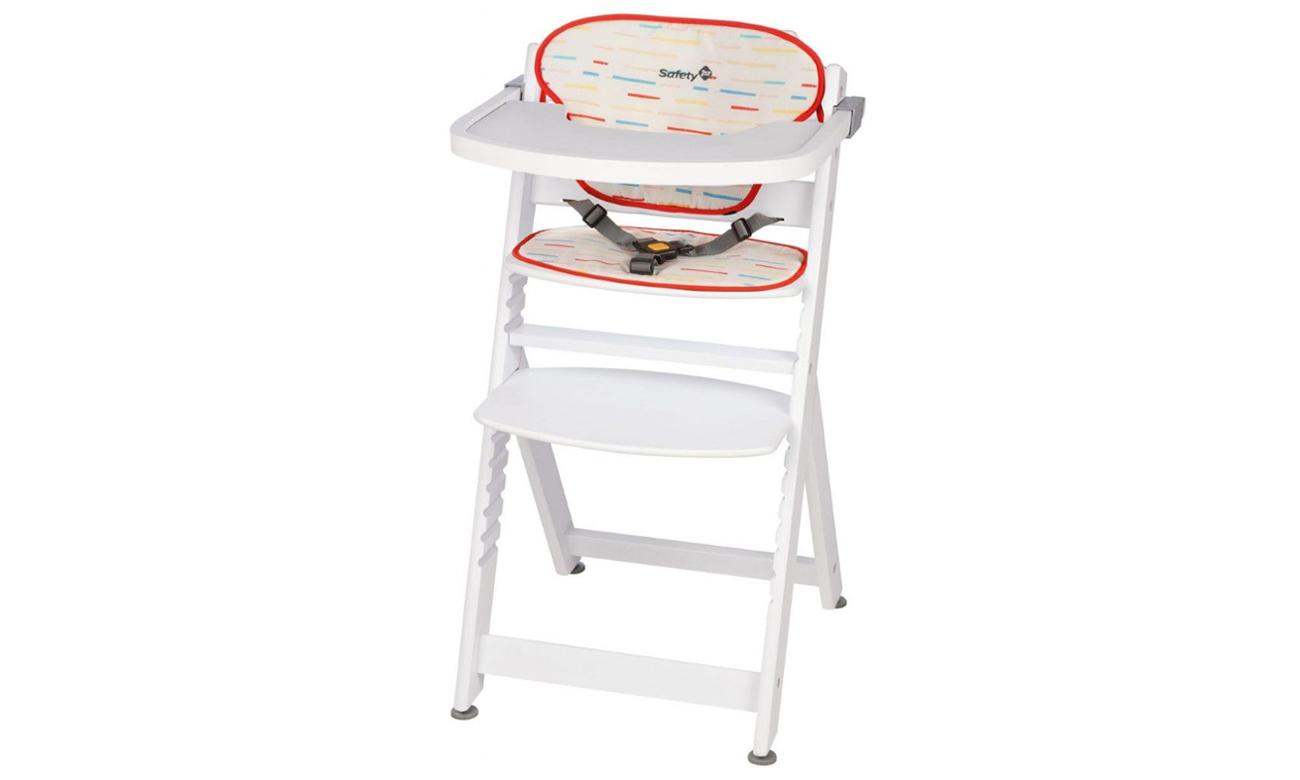 Krzesełko Safety 1st Timba Red Line White Wood