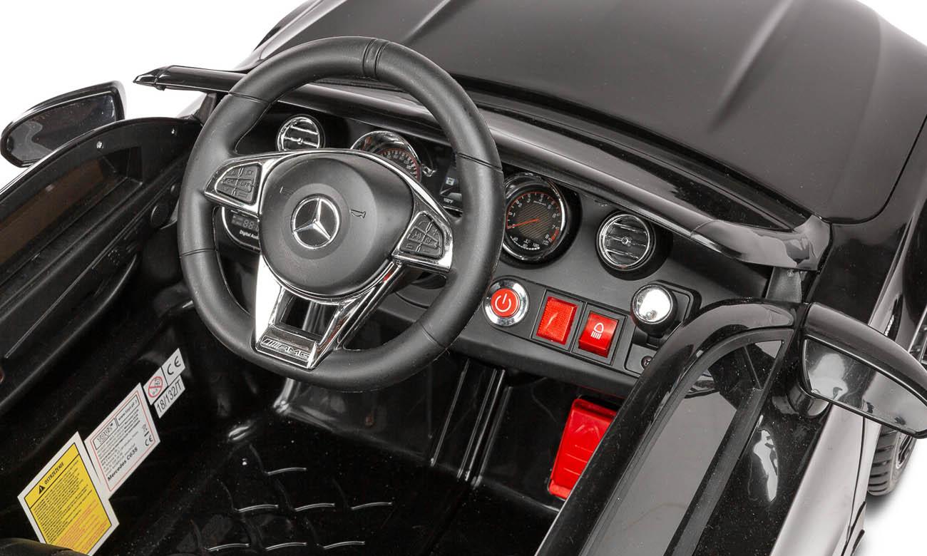 Pojazd na akumulator Toyz Mercedes AMG C63 S Czarny