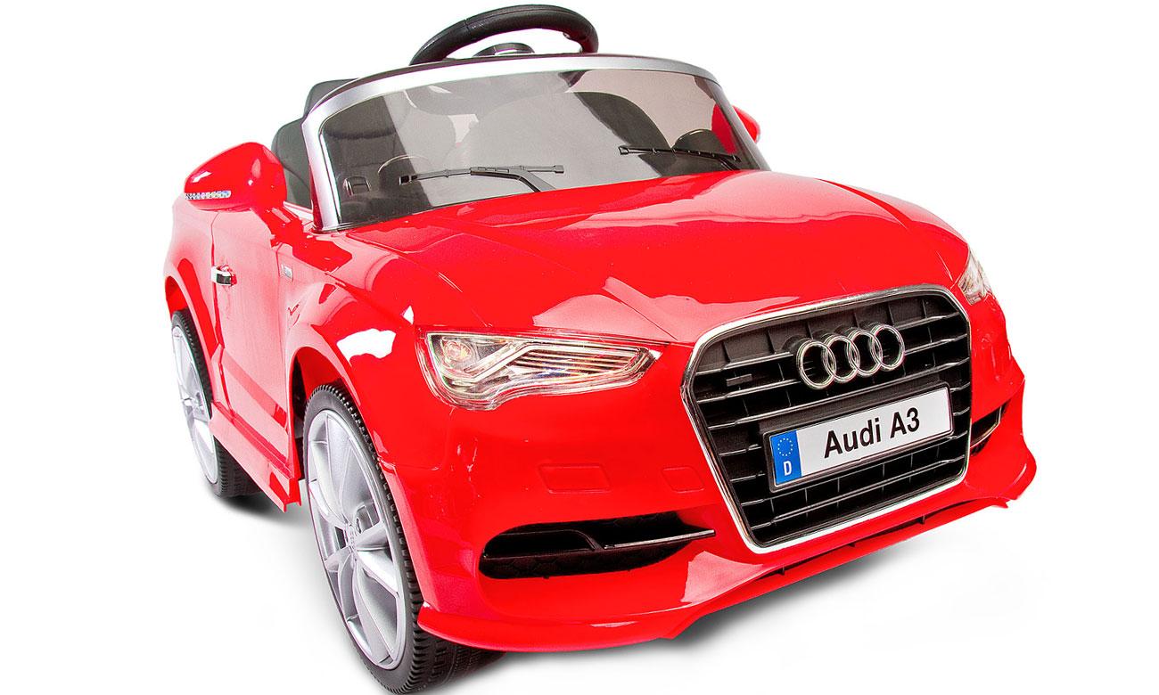 Czerwony samochód na akumulator Audi A3 Toyz