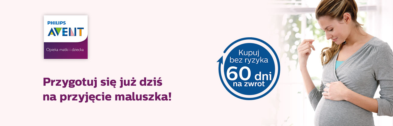 Philips AVENT zwrot 60 dni