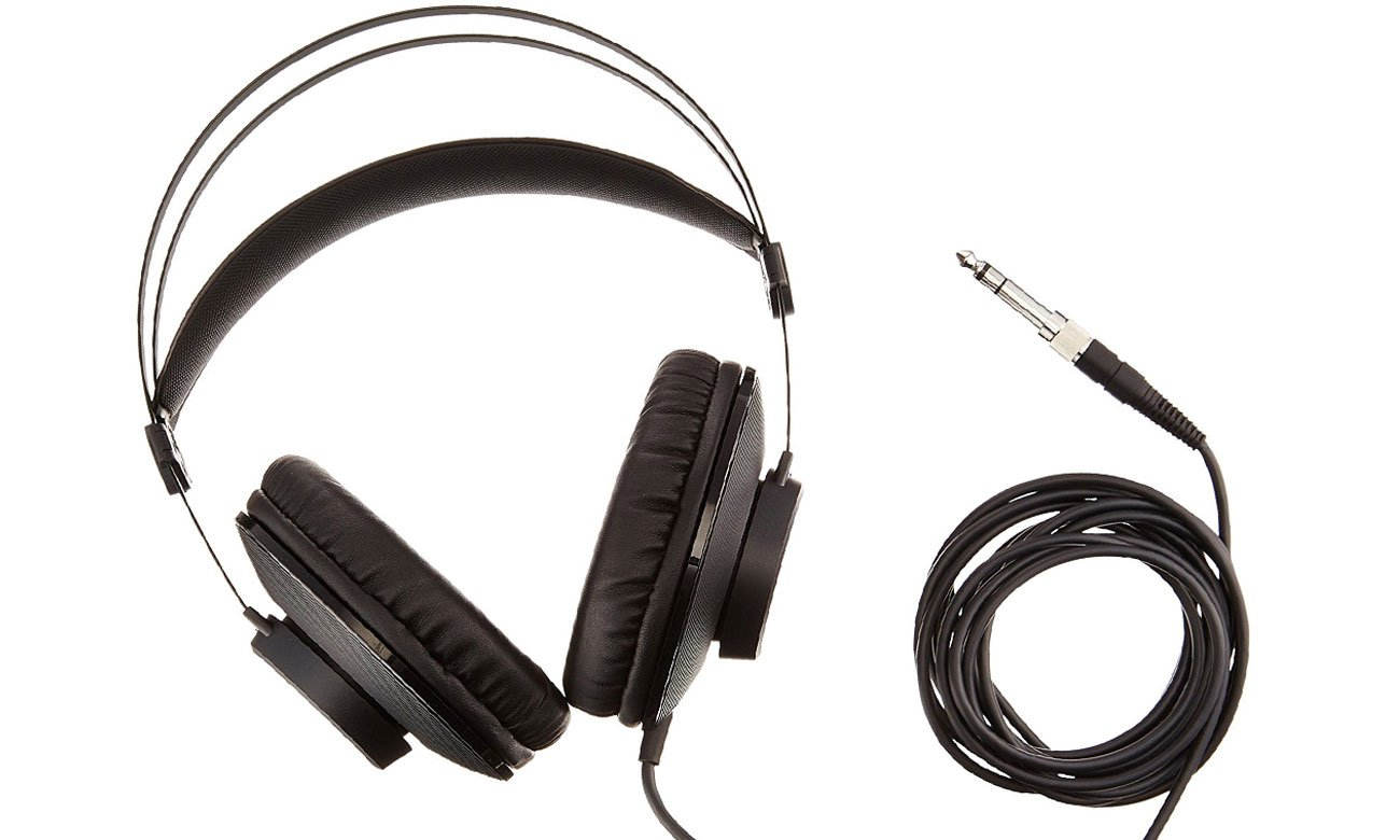 Wysoka jakość dzwięku ze słuchawek K72 AKG