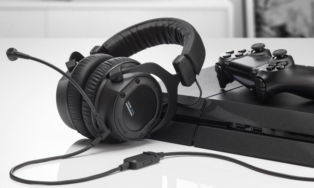 Słuchawki gamingowe Beyerdynamic Custom Game czarne 716871