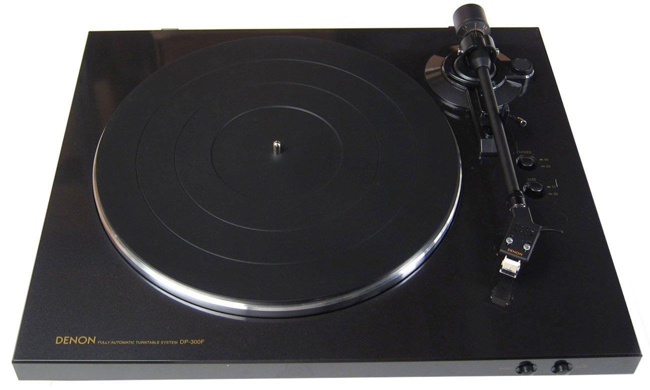 Niepowtarzalna jakość dźwięku z gramofonu Denon DP-300FBL