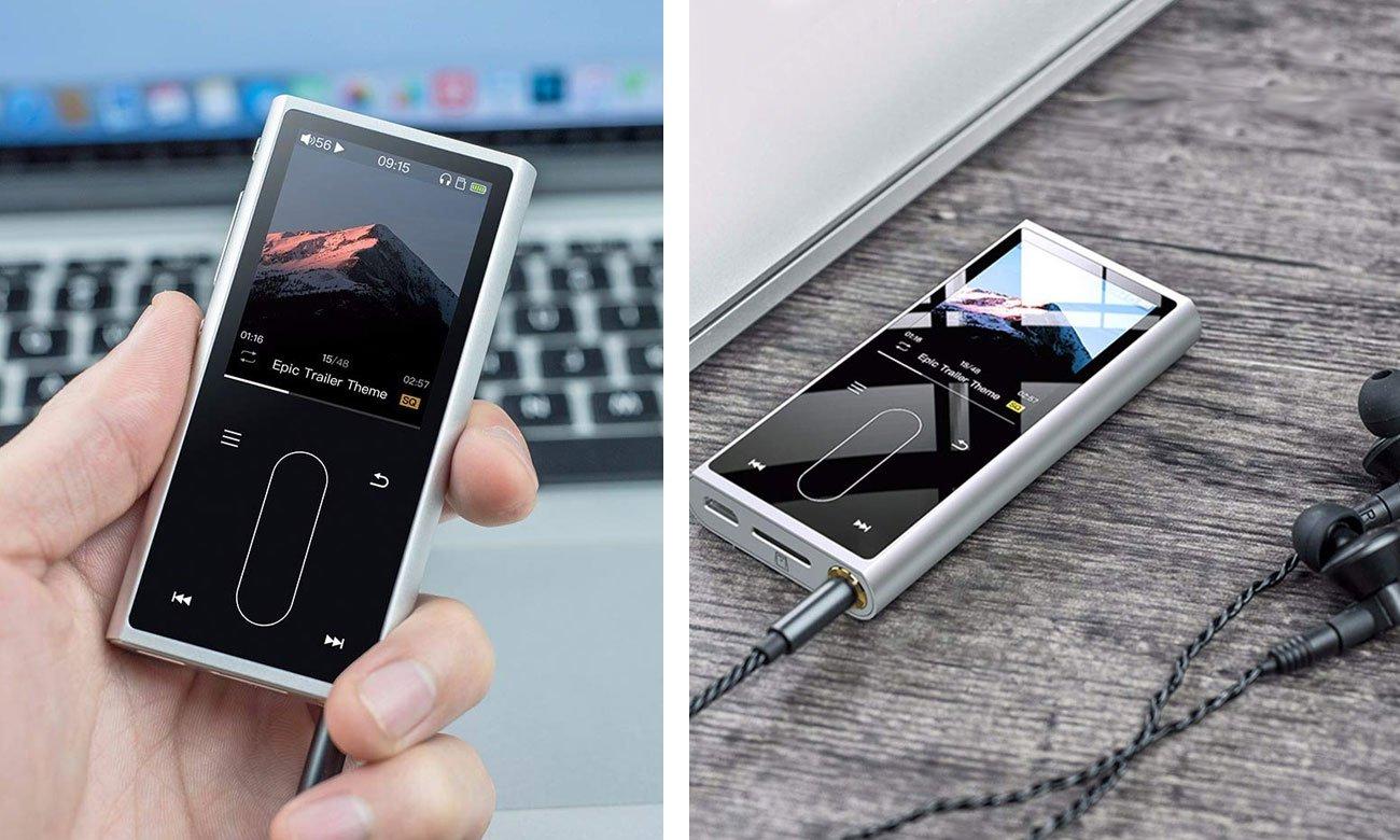 Odtwarzacz przenośny Hi-Res Audio FiiO M3K srebrny