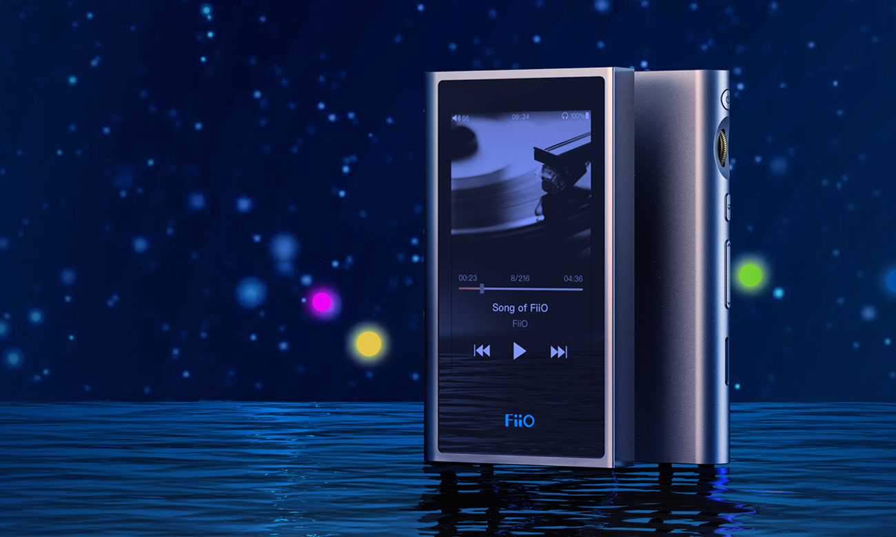 Obsługa odtwarzacza bezstartnych formatów audio FiiO M9