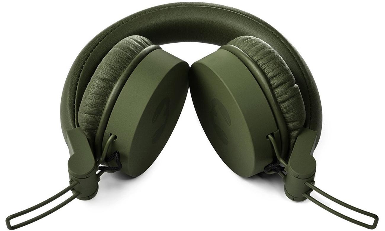 Wygodne słuchawki nauszne Fresh n Rebel Caps Army zielone