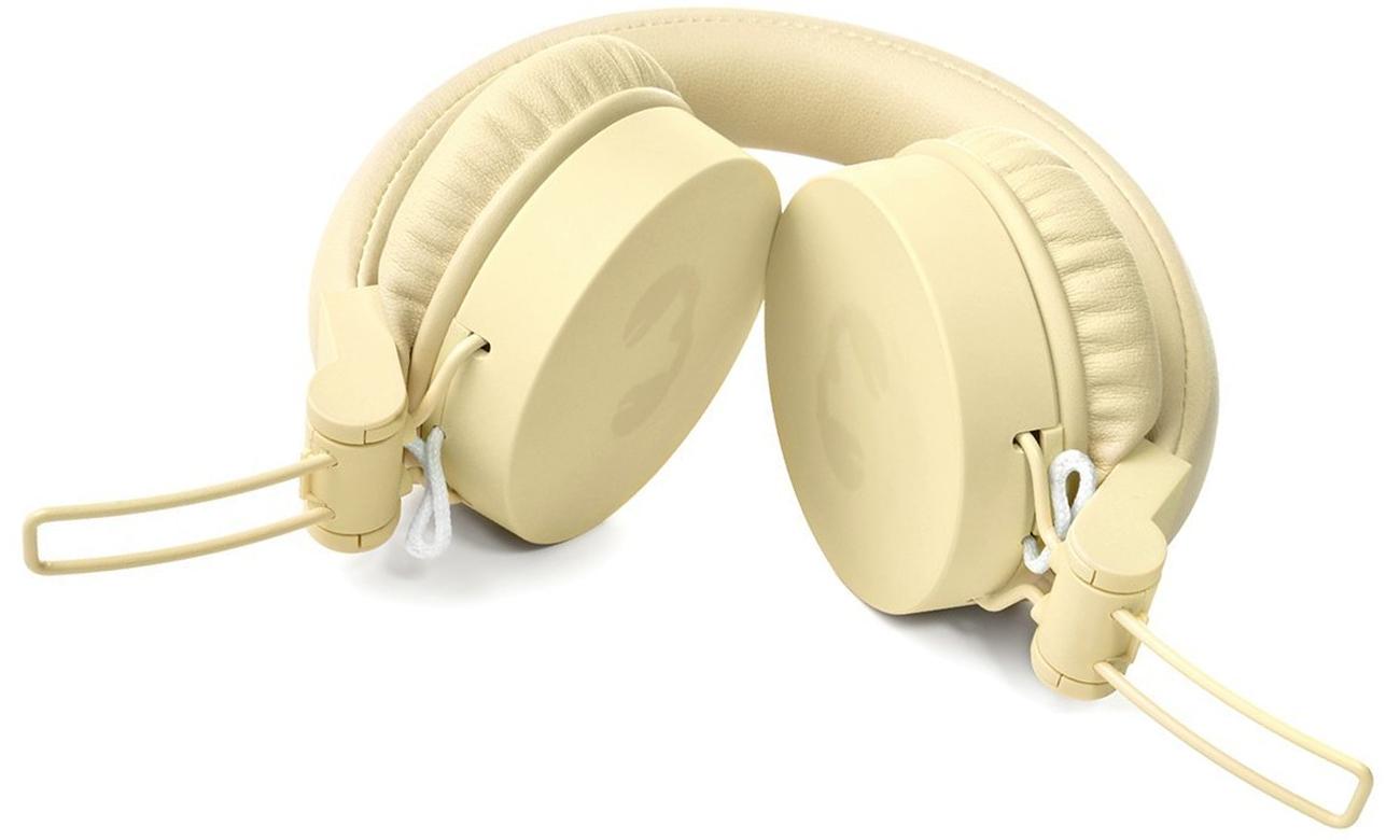Wygodne słuchawki nauszne Fresh n Rebel Caps Buttercup żółte