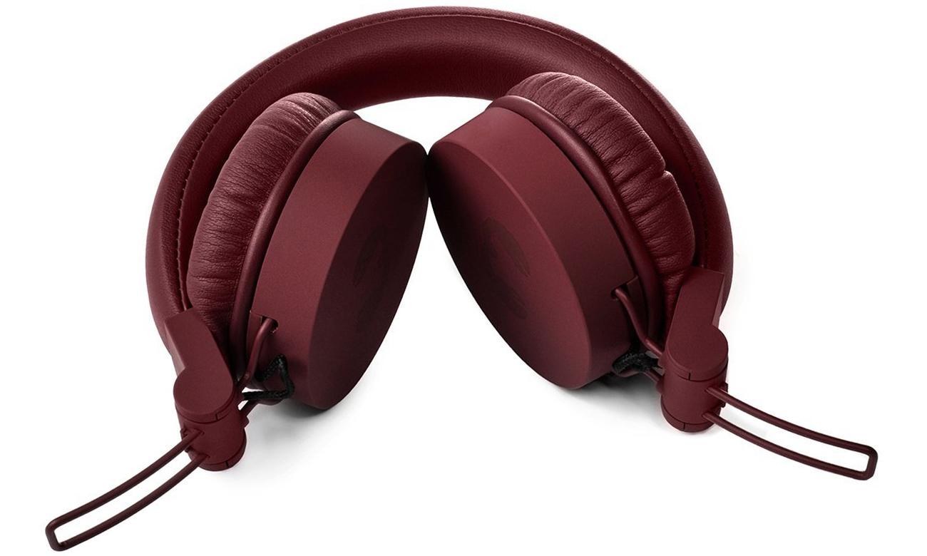 Wygodne słuchawki nauszne Fresh n Rebel Caps Ruby czerwone