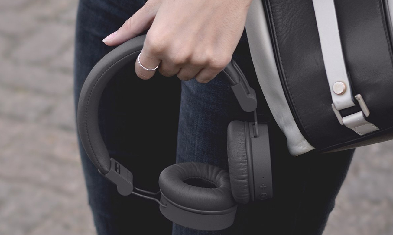 Słuchawki z Bluetooth Fresh 'n Rebel Caps Concrete