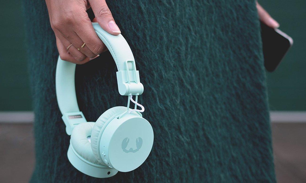 Miętowe słuchawki z Bluetooth Fresh 'n Rebel Caps Peppermint
