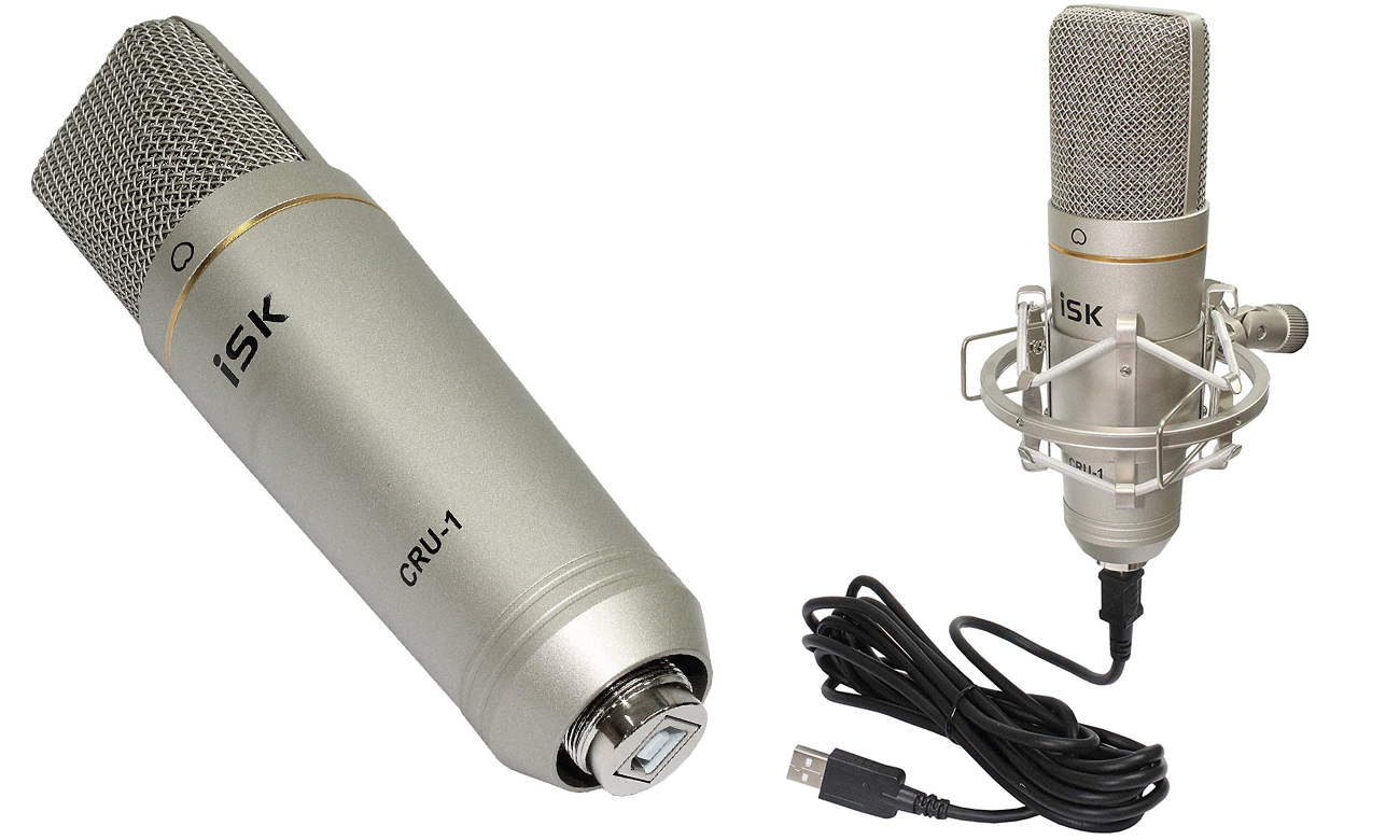 Mikrofon pojemnościowy do komputera ISK CRU-1 USB
