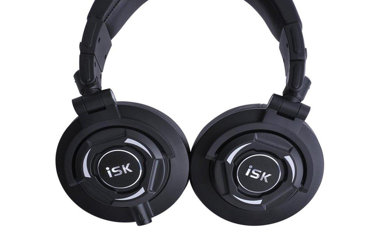Słuchawki nauszne zamknięte dla DJ ISK MDH9000