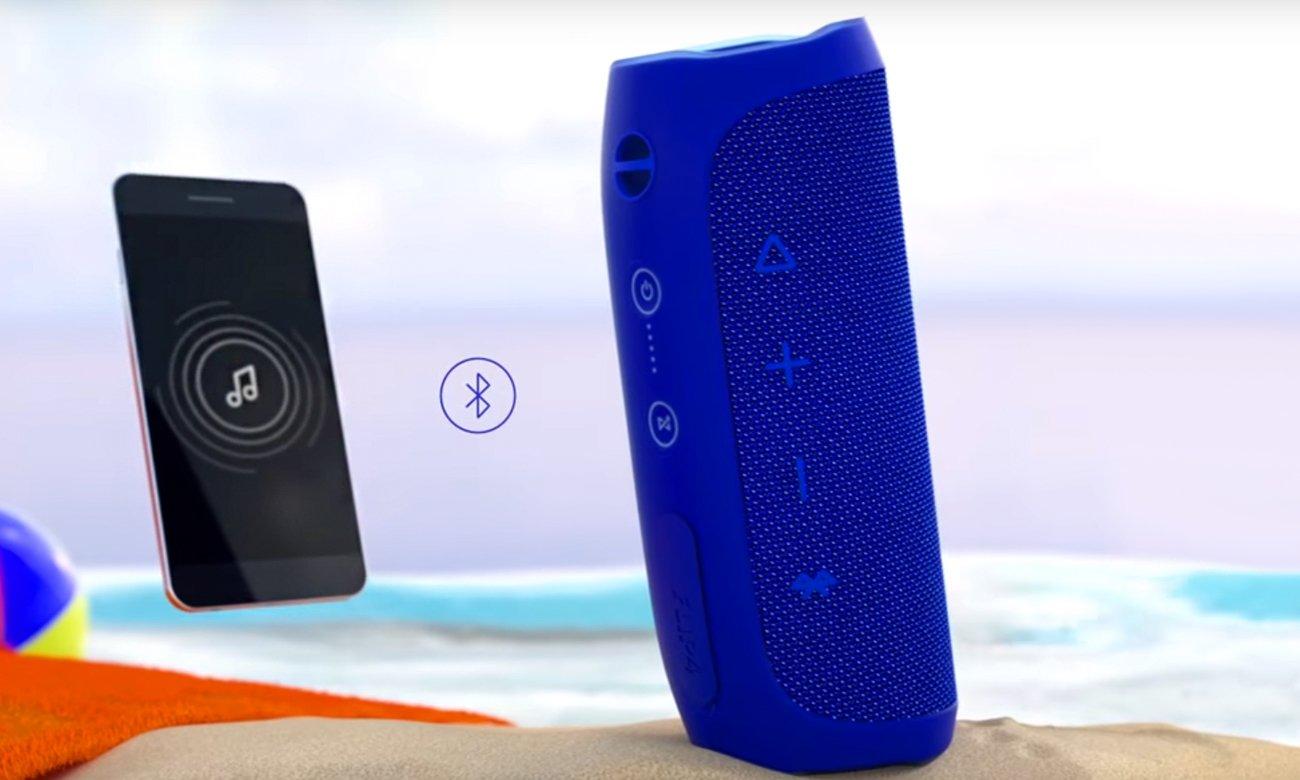 Głośnik przenośny JBL Flip 4 z Bluetooth