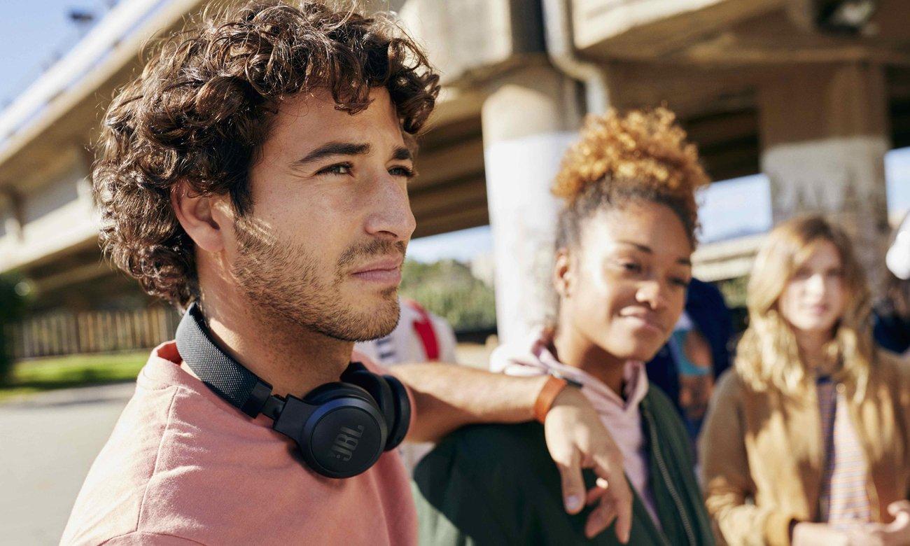 Słuchawki bezprzewodowe nauszne JBL LIVE 400BT