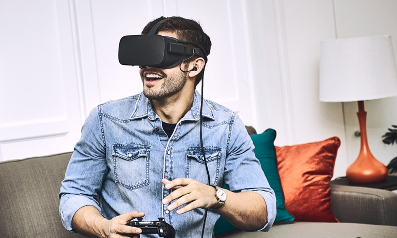 Wygodne słuchawki JBL OR100 do  Oculus Rift