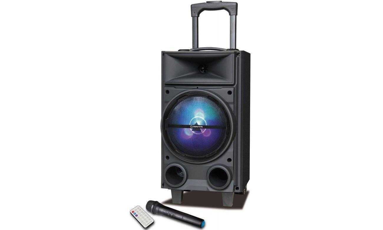 Funkcję systemu Power Audio Manta SPK5000 BUFFALO