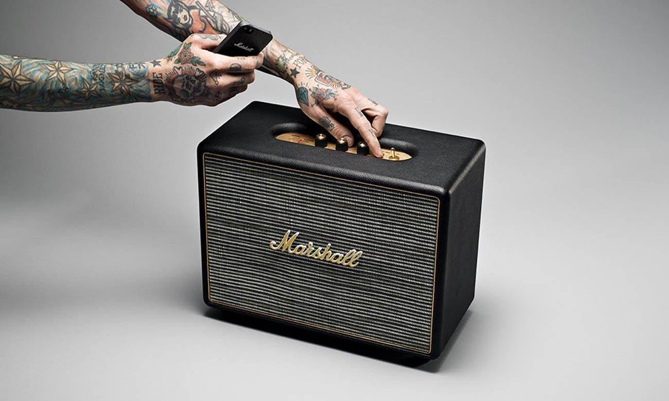 Głośnik bluetooth Marshall Woburn Czarny