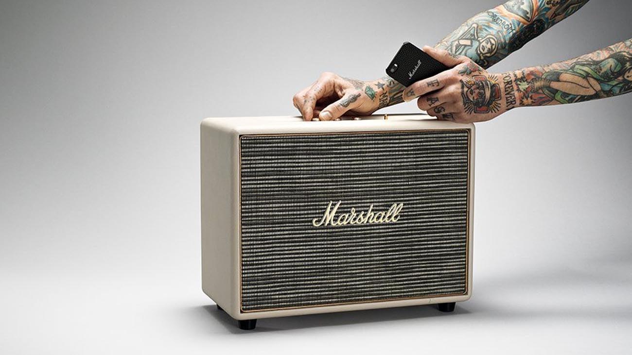 Głośnik bluetooth Marshall Woburn Kremowy